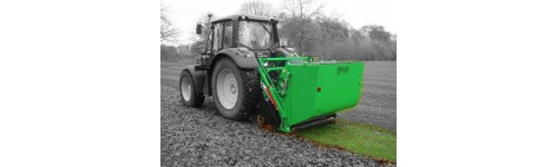 Flail Mower Collectors for compact and mediums tractors