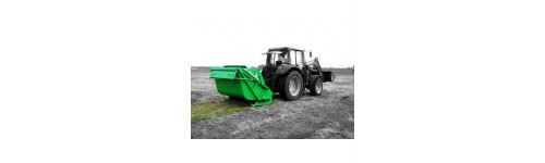 Flail mowers collectors for heavy duty application