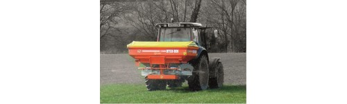Mounted Twin Disc Fertiliser Spreaders