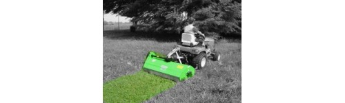 Small flail mowers for compact tractors