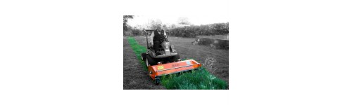 Specialist front mounted flail mowers for out front power units
