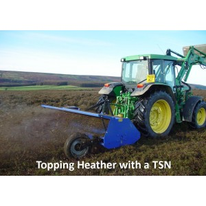 TSN High Capacity Flail Topper/Shredder