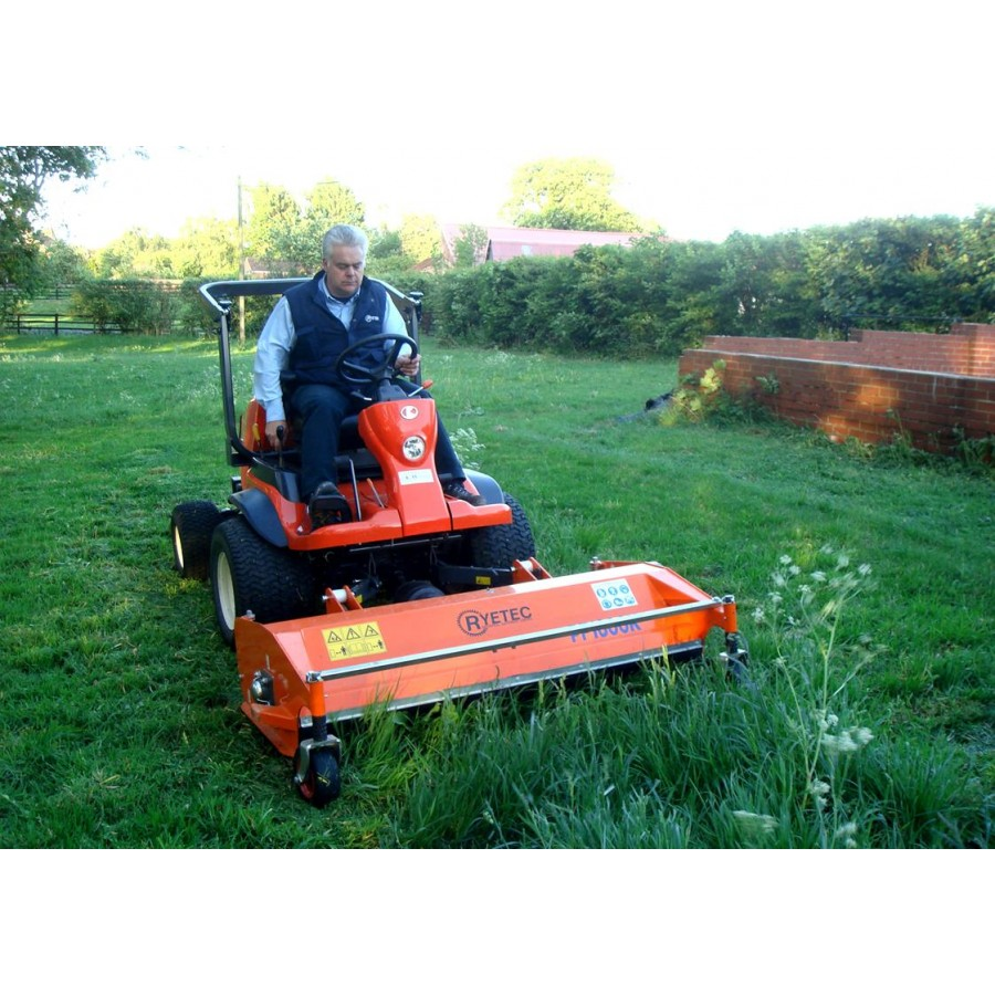 Professional Specialist Front Mounted Flail Mowers - Ryetec