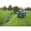 Ryetec SL420 side arm flail ditch mowing