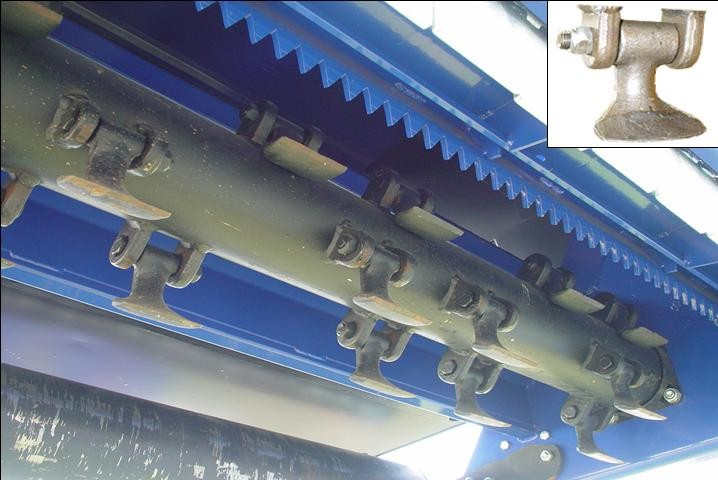 Ryetec Contractor flail collector flail rotor