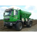 Ryetec Ryetrac Gustrower truck mounted self propelled lime and fertiliser spreader 1