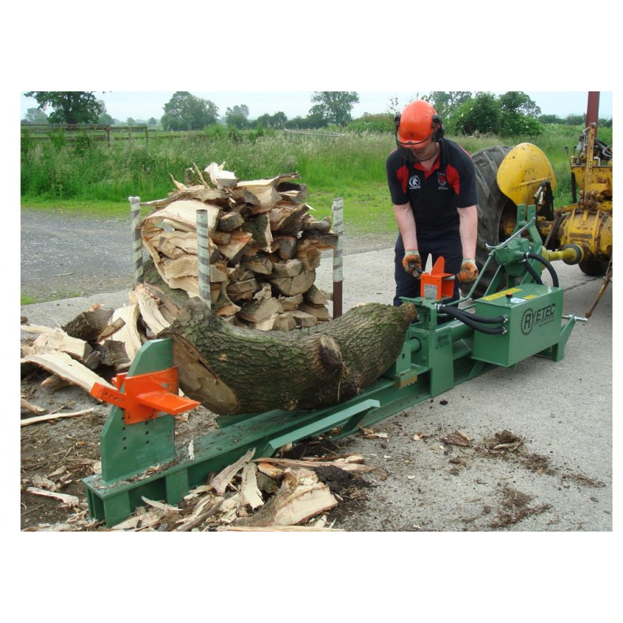 how to make a non hydraulic log splitter
