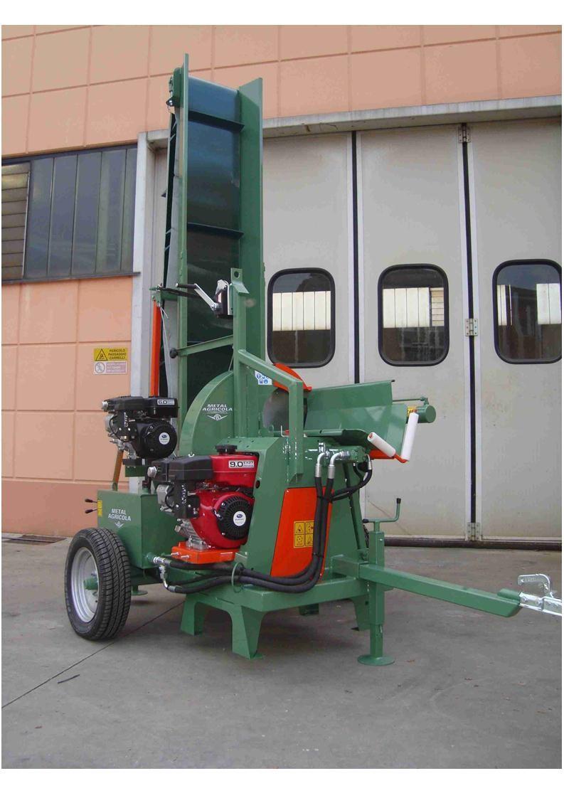 Ryetec Contractor Combi firewood log processor CC700.12.EVH4