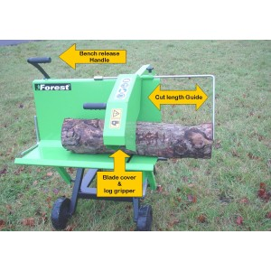 Professional Electric or Tractor Circular Log Saw