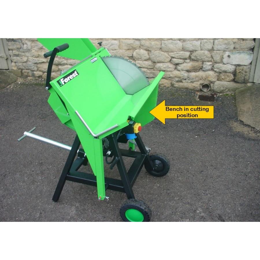 professional electric or tractor circular log saw ryetec