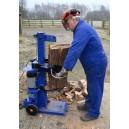 ECO 85 7 ton Semi Professional Log Splitter splitting large log