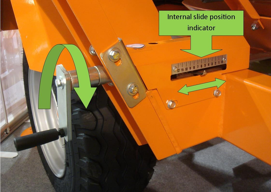 Recycle/speed control of the Agrex grain driers