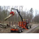KTS Forestry Timber Trailers Cranes & Grapples