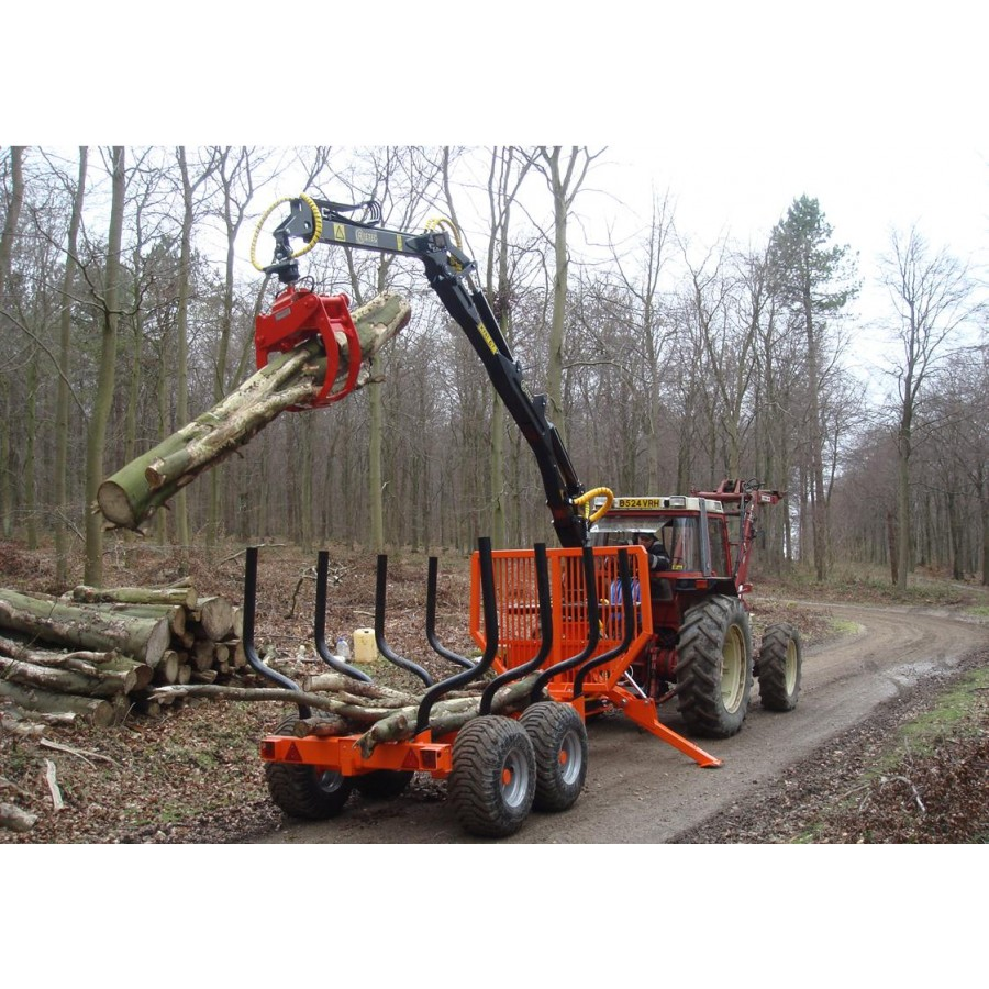 Kts Forestry Timber Trailers Cranes Amp Grapples Ryetec