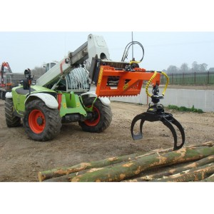 Timber Handling Forestry Loading Grapple for loaders and telehandlers