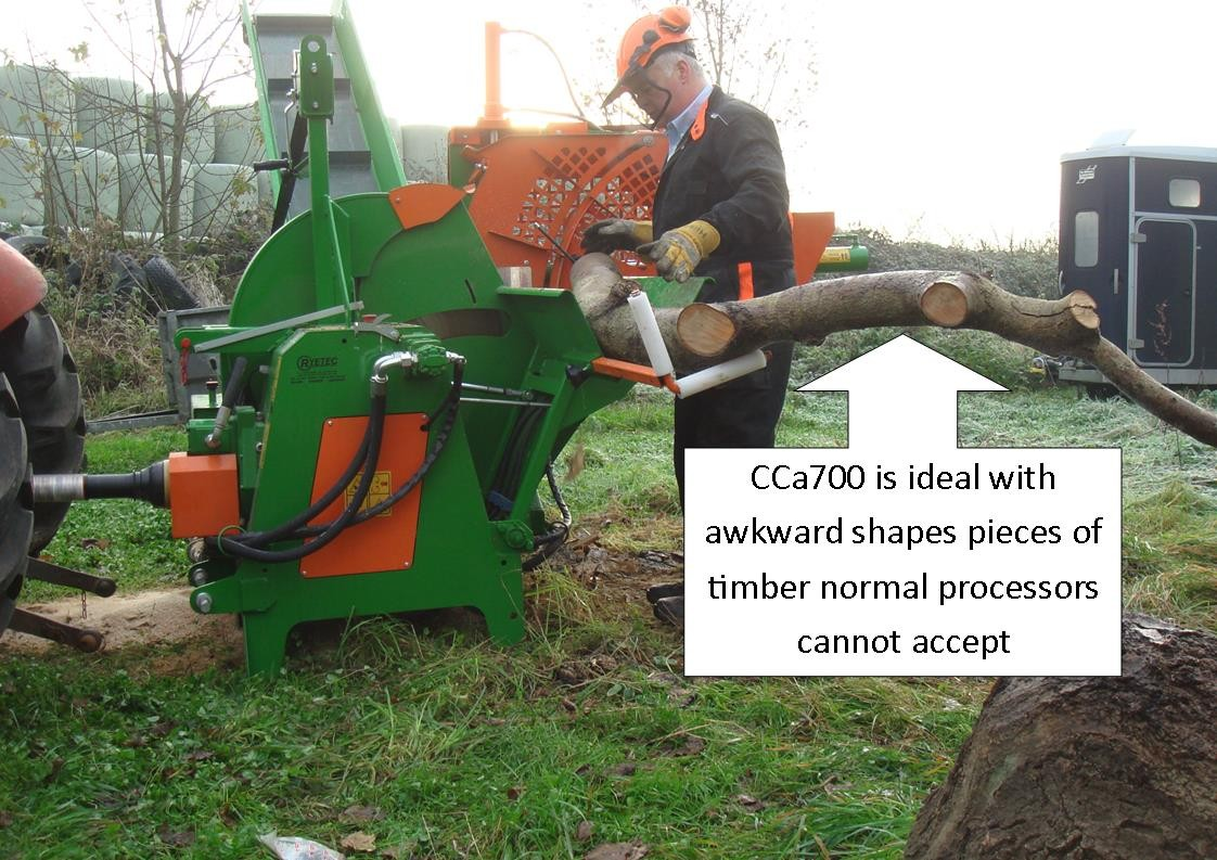 CCA ideal to cope with awkward shaped timber