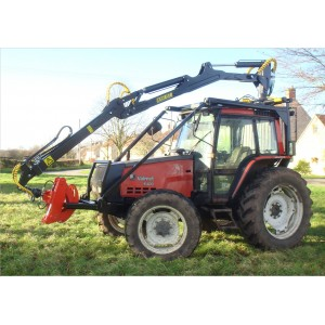 Tractor Roof Mounted Timber Forestry Crane
