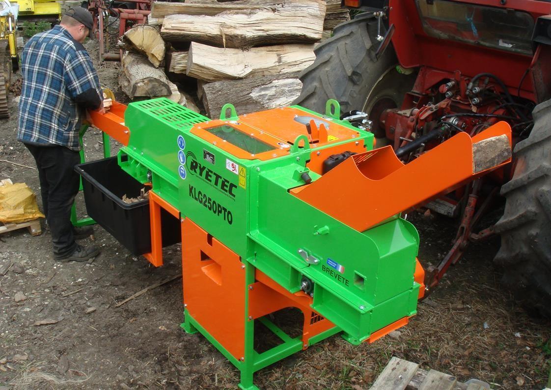 Ryetec KLG250 kindling production machine